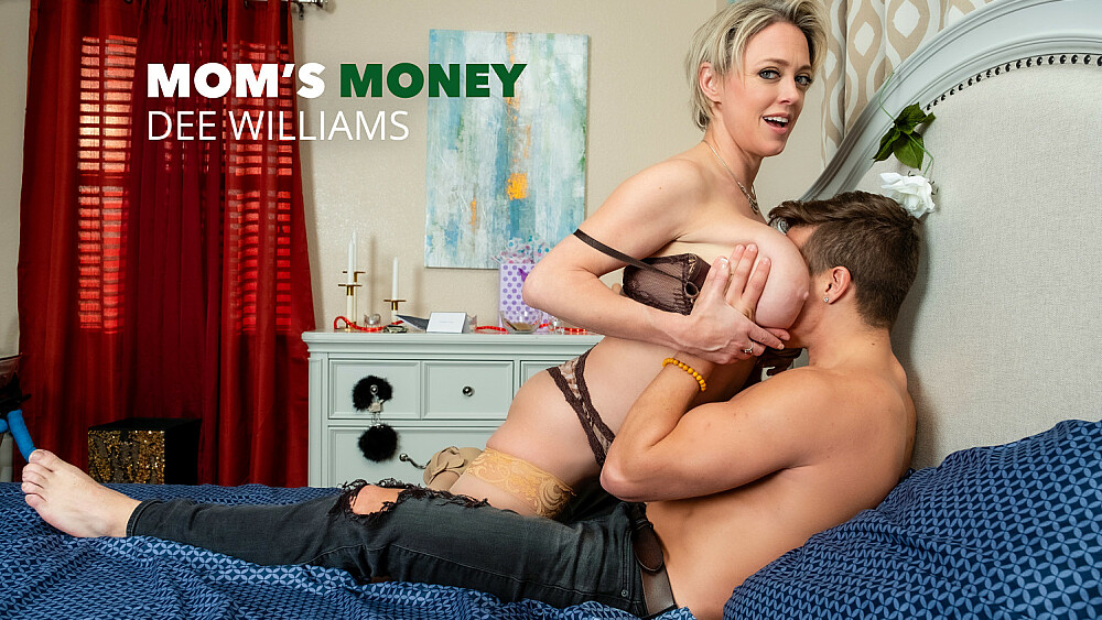 Dee Williams fucks young cock