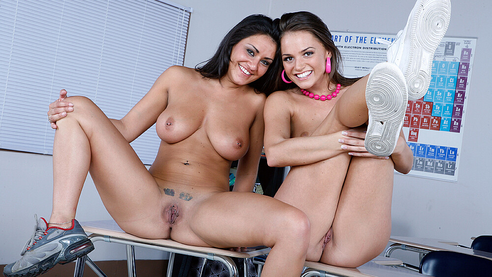 Student Charley Chase fucking in the floor with her petite