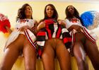 Skin Diamond, Leilani Leeane & Ana Foxxx - Blowjob