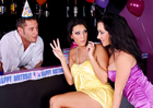 Jayden Jaymes & Dylan Ryder in 2 Chicks Same Time - Sex Position 1