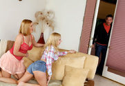 Krissy Lynn & Lexi Belle & Mick Blue in 2 Chicks Same Time