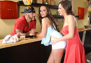 Teal Conrad, Lily Love & Derrick Pierce in 2 Chicks Same Time - Sex Position 1