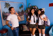 Gianna Lynn & Kaiya Lynn & Kurt Lockwood in Asian 1 On 1 story pic