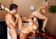 Puma Swede, Kayla Synz & Tommy Gunn in Diary of a Milf - Sex Position 2