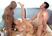 Emma Starr, Billy Glide & Nat Turner in Diary of a Milf - Sex Position 2