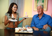 Daisy Marie & Randy West in Diary of a Nanny - Sex Position 1