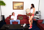 Gianna Michaels & Evan Stone in Diary of a Nanny story pic