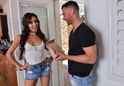 Chloe Amour & Seth Gamble in I Have a Wife