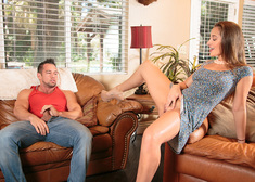 Dani Daniels & Johnny Castle in I Have a Wife - Centerfold
