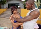Jada Fire & Julius Ceazher in I Have a Wife - Sex Position 1