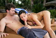 Aletta Ocean & James Deen in My Dad's Hot Girlfriend - Sex Position 2