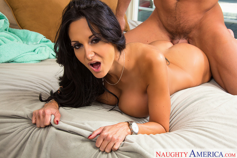 Porn star Ava Addams having sex