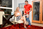 Nicole Aniston & Johnny Castle in My Dad's Hot Girlfriend story pic