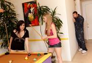 Avril Hall & Jordan Ash in My Friend's Hot Girl - Sex Position 1