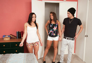 Gracie Glam, Mischa Brooks & Xander Corvus in My Friend's Hot Girl - Sex Position 1