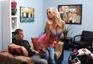 Amber Lynn & Chris Johnson in My Friends Hot Mom - Sex Position 1