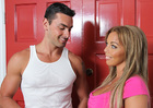 Amber Lynn Bach & Ryan Driller in My Friends Hot Mom - Sex Position 1