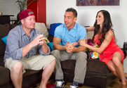 Ariella Ferrera & Johnny Castle in My Friends Hot Mom - Sex Position 1