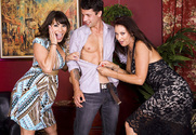 Vanessa Videl & Ava Devine & Alan Stafford in My Friend's Hot Mom story pic