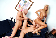 Bridgett Lee & Misty Vonage & Johnny Sins in My Friend's Hot Mom