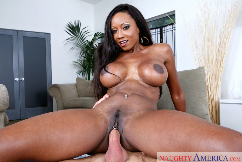 Porn star Diamond Jackson having sex