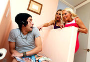 Diana Doll, Tanya Tate & Xander Corvus in My Friend's Hot Mom - Sex Position 1