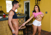 Julianna Vega & Tyler Steel in My Friends Hot Mom - Sex Position 1