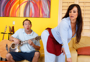 Lisa Ann & Will Powers in My Friends Hot Mom - Sex Position 1