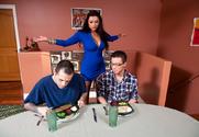 Nikita Denise & Dane Cross in My Friend's Hot Mom story pic