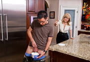 Nina Hartley & Dane Cross in My Friends Hot Mom - Sex Position 1