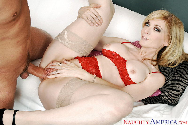 Porn star Nina Hartley having sex