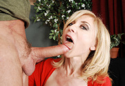 Nina Hartley & Alec Knight in My Friends Hot Mom - Sex Position 2