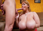 Samantha 38G -  Blowjob
