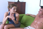 Saskia & Billy Glide in My Friend's Hot Mom