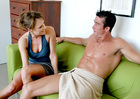 Saskia & Billy Glide in My Friends Hot Mom - Sex Position 1