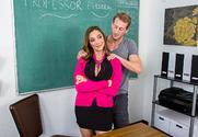 Ariella Ferrera & Ryan Mclane in My First Sex Teacher story pic