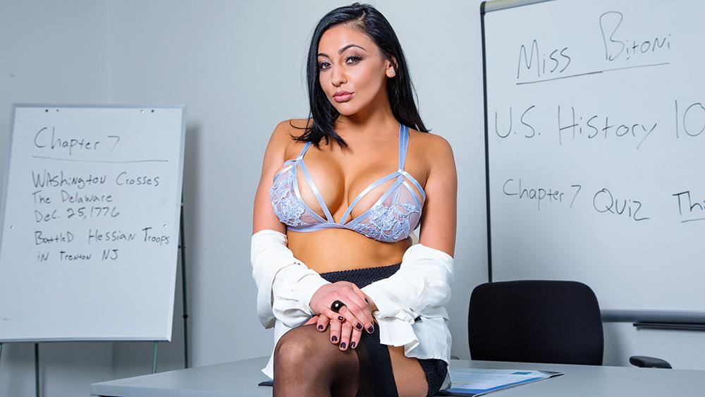 Came audrey bitoni big tits at work
