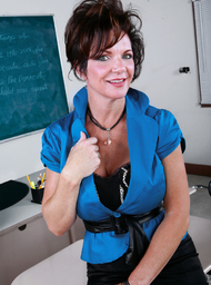 Deauxma & Alan Stafford in My First Sex Teacher - Centerfold