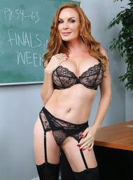 Diamond Foxxx & Peter Green in My First Sex Teacher - Centerfold