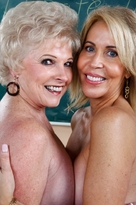 Erica Lauren & Mrs. Jewell  - Centerfold