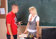 Holly Sampson & David Loso in My First Sex Teacher