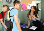 Joslyn James & Zane in My First Sex Teacher - Sex Position 1
