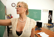 Julia Ann & Rocco Reed in My First Sex Teacher - Sex Position 1