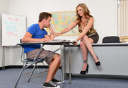 Julia Ann & Van Wylde in My First Sex Teacher - Sex Position 1