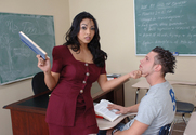 Mika Tan & Jeremy in My First Sex Teacher - Sex Position 1