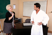 Mrs. Jewell & Alan Stafford in My First Sex Teacher