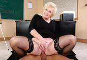 Mrs. Jewell & Alan Stafford in My First Sex Teacher - Sex Position 2