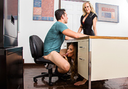 Brandi Love & Nicole Aniston & Ryan Driller in My First Sex Teacher