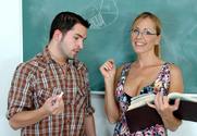 Nicole Moore & Kris Slater in My First Sex Teacher