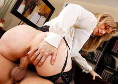 Nina Hartley & Xander Corvus in My First Sex Teacher - Centerfold
